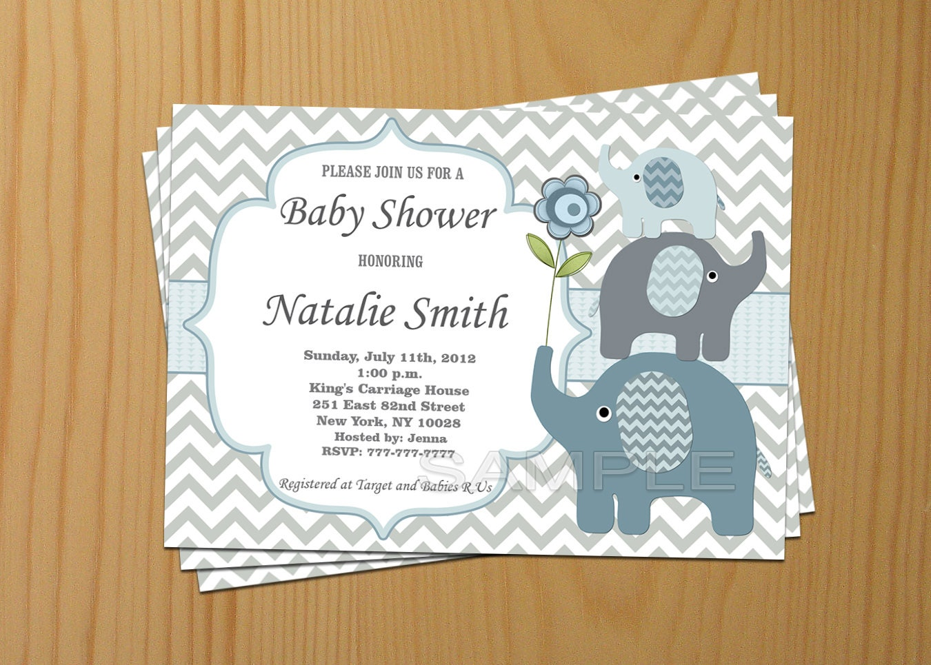 clever baby shower invitation wording%0A Editable Baby Shower Invitation Elephant Baby Shower Il Fullxfull Editable Baby  Shower Invitation Elephant