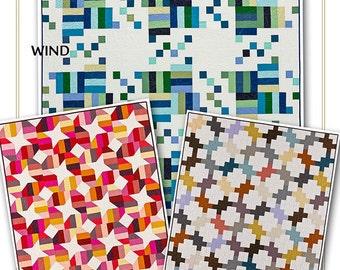 Strip it three ways Series 2 Jelly Roll Friendly 3 patterns in one Quilt Pattern