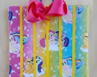 My Little Pony - Bow Board - Bow holder - Bow organizer - Girls wall decor - Hair clip board – Accessorie Board