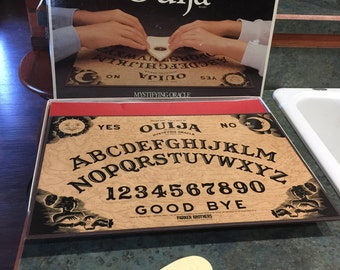 Ouija Board Game by William Fund Parker Brothers