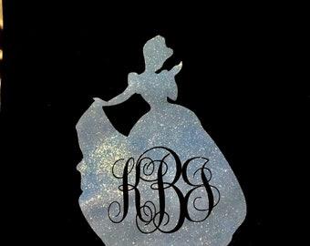 Monogrammed Disney Princess Cinderella Tee