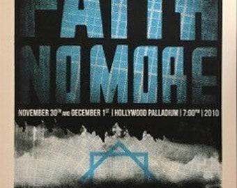 Faith No More First Run Original Limited Editon Concert Poster