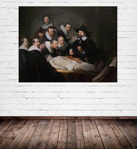 Rembrandt : The Anatomy Lesson of Dr Nicolaes Tulp 1632