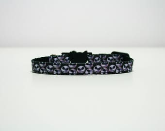 "Breakaway Nightmare Before Christmas Halloween Cat Kitten Puppy Safety 3/8"" Collar"