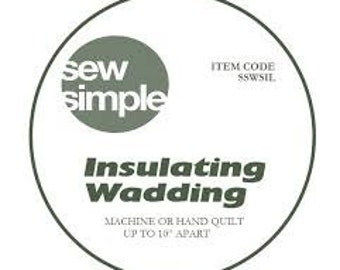 insulated wadding, heat resistant quilt wadding, insulated batting, thermal wadding, thermal batting