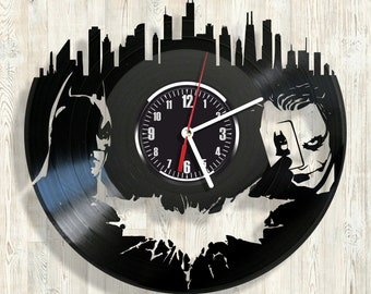 BATMAN vinyl record wall clock best eco-friendly gift for any occasion