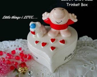 Heart Trinket Box * Ziggy And Fuzz * Little things i LOVE * LOVE TALK * 1982