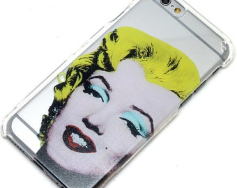 Last One, 2 Piece Case, Marilyn Monroe, Transparent Clear Phone Case fits iPhone 6 or iPhone 6s Only, Last 2 Piece Case