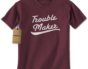 Trouble Maker Mens T-shirt