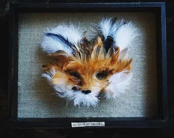 Fantastic Mr. Fox Mask Display