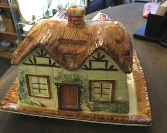 Cottage Ware Butter/Cheese Dish