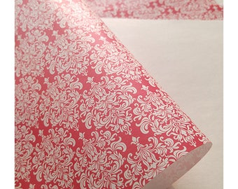 Exclusive red paper for wedding invitations Aurora Red 5 ps