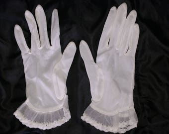 Vintage Sheer Gloves