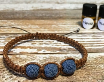 Essential Oil Diffuser Bracelet / Lava Rock Bracelet / Healing Bracelet / Diffuser Bracelet