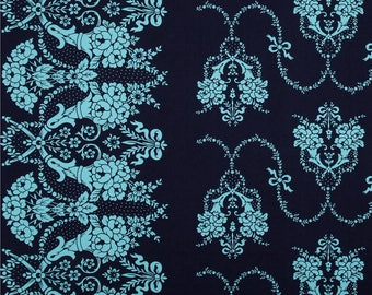 Jennifer Paganelli Beauty Queen Valerie Midnight Quilting Cotton By the 1 yard 100% cotton