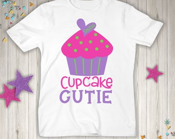 Personalized Cupcake Cutie Shirt or Bodysuit - Can be customized with ANY name