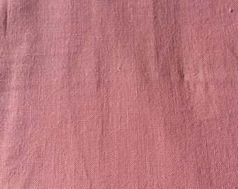 Vintage Linen Quilt / Dress Fabric sold by the Yard