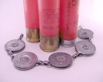 Annie Get Your Gun Recycled Bullet Gunshell 7 Inch Bracelet