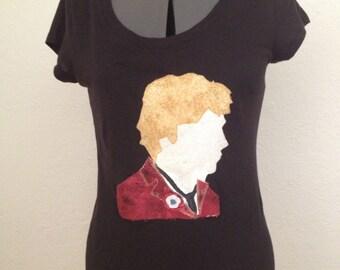 Les Miserables Enjolras Appliqué T-Shirt