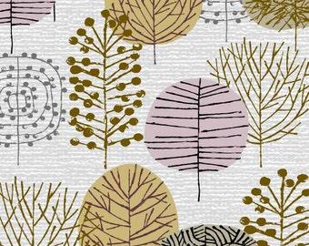 Petits arbres d'hiver, édition limitée giclée