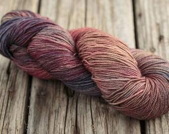 4 ply wool, sock yarn, merino wool, Vivacious 4 ply, Fyberspates, shade Tweed Imps, shade 601