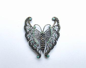 Stylised Butterfly Brooch