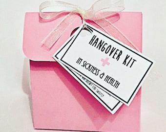 Hangover Survival Kits - Wedding Favours / Hen do Favours