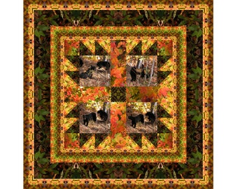 Bears in the Woods Photoquilt Kit