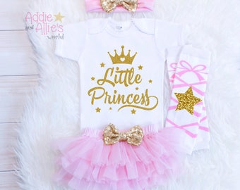Baby Girl Clothes, Take Home Outfit, Daddy's Little Princess, Baby girl outfit, Take Home Outfit, Baby Girl Shower Gift, Daddy's Girl, T5BP