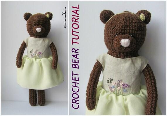 Easy Amigurumi Pdf : Easy crochet bear amigurumi pattern how to crochet bear toy