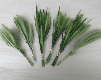 Dried grass stems dry wild grass flower bunch biodegradable decoration