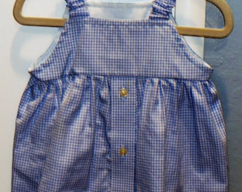 Girl/Infant/Baby Sundress/Repurpose/Upcycle Sundress/Jumper/Tunic/Men Shirt