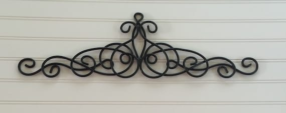 Merveilleux Black Metal Wall Hanging / Metal Wall Decor / Decorative Wall  Hanging / Black Wall