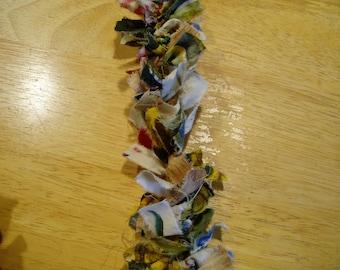 12 Foot Primitive Fabric Garland