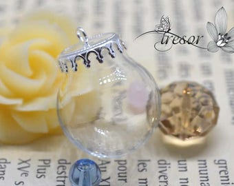 20mm, glass vial, bottle, hat