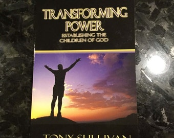 Bible Study Book Transforming Power Christian book, Christian gift, graduation gift, bible teaching, child of God