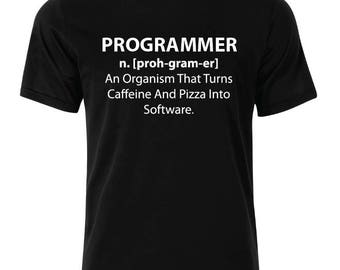 Programmer T-Shirt - available in many sizes and colors