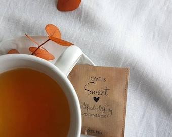 """25 bustine da the mod""""love is tea"""""""