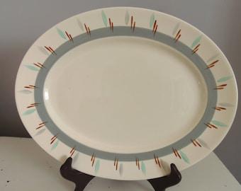 MIDCENTURY MOYTTS GIGI Ironstone Platter