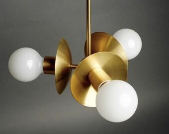 Triad Brass pendant light UL listed