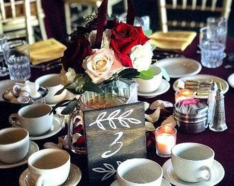 Wedding table numbers. Wedding wood table numbers. Wood table numbers. Rustic wedding signs. Rustic wedding decor. Farm wedding decor.