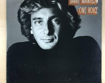 Barry Manilow One Voice Vintage Vinyl Record Album 33rpm LP 1979 Artista Records AL 9505