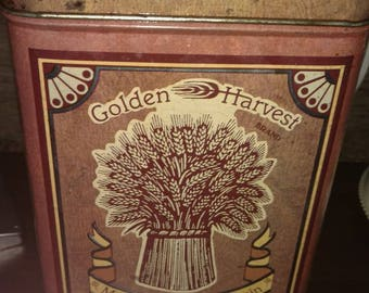 1980's Golden Harvest Flour Canister. BY Cheinco Housewares