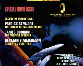 Star Trek The Official Fan Club Magazine #99 October November 1994 Issue