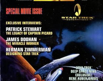 Star Trek The Official Fan Club Magazine #99 October November 1994 Issue