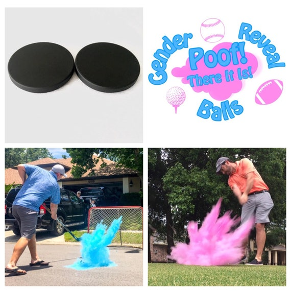 HOCKEY PUCKS Gender Reveal Puck Pack (Custom Combinations)