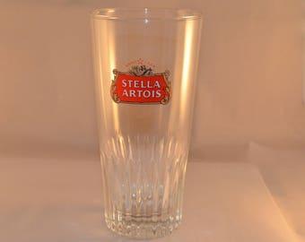 6 glasses, Stella Artois Beer Belgian Highball Glasses, Vintage 1970's
