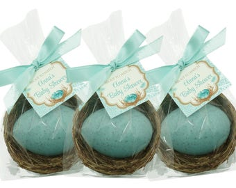 Robin's Egg Nest - Your Choice Color - Shower Favors - Custom Favor