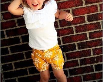 Bubble Shorts: Girls Shorts Pattern, Baby Shorts Pattern, Toddler Shorts Pattern, Instant Donwload PDF Pattern