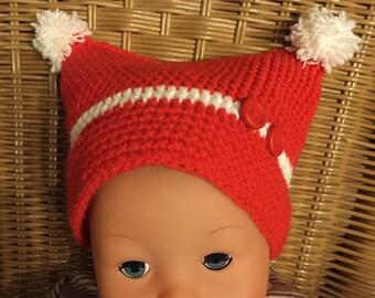 PDF crochet baby/children Hat Gr. 1 month up to 2 years
